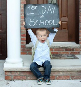 1st day at school