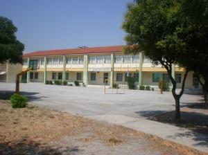 Το κεντρικό κτίριο του σχολείου μας