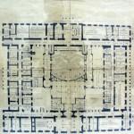 Σχέδια του αρχιτέκτονα Ανδρέα Κυριαζή.