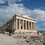Ο Παρθενώνας στον Ιερό Βράχο της Ακρόπολης.