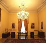 Το βυζαντινό σαλόνι στο ισόγειο, όπου τελείται η ορκωμοσία υπουργών και δίνονται οι διαβεβαιώσεις μητροπολιτών ενώπιον του Προέδρου.