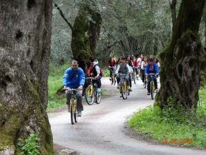 Βόλτα με τα ποδήλατα