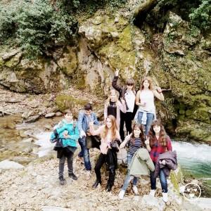 Εξερευνώντας την περιοχή γύρωαπό το ποτάμι