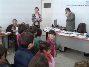 Επίσκεψη στα γραφεία των Υποψηφίων Δημάρχων