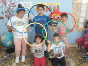 Φτιάχνουμε το σήμα των Ολυμπιακών αγώνων