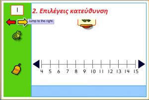 αριθμογραμμή 2