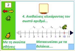 αριθμογραμμή 4