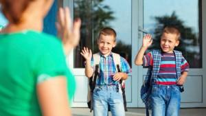 Τα πρωτάκια στο νέο τους σχολείο