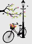 Η ζωή είναι ανάπτυξις στίλβοντος ποδηλάτου