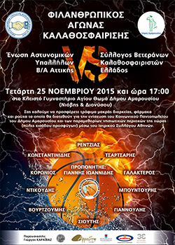 ΑΓΩΝΑΣ ΜΠΑΣΚΕΤ 2015