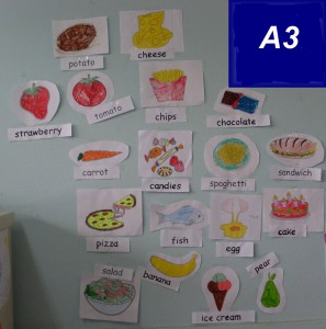 food items by A3