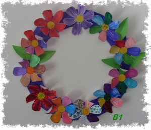 Flower wreath B1