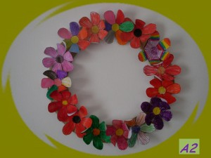 flower wreath A2