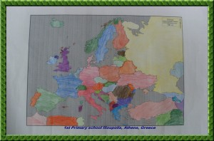 map of Europe 1st step