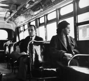Rosa Parks' Historic Refusal (© Bettman/CORBIS )