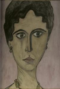 Γυναικεία μορφή-φαγιούμ της Βάσως Κ. Ηλιάδη