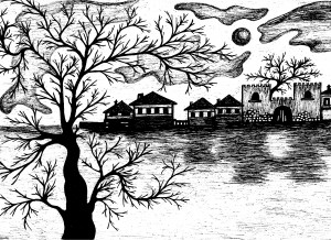 Νυχτερινό τοπίο της Βάσως Κ. Ηλιάδη