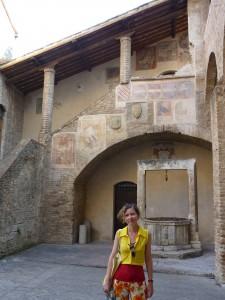 San Giminiano - Amalia Eliade/Iliadi