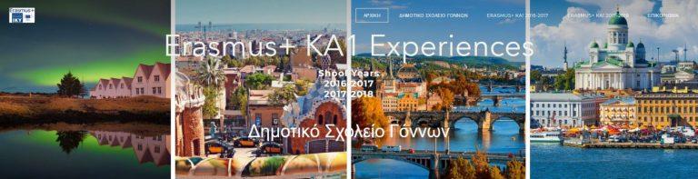Erasmus+ KA1 Experiences