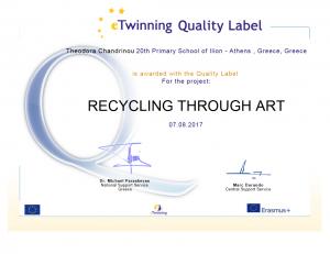 Theodora Chandrinou - Quality label