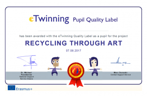 Pupils Award - Quality label