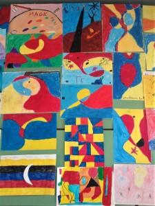 Αφιερώματα σε μεγάλους δημιουργούς: Ο Joan Miró (Χοάν Μιρό) εμπνέει τους μαθητές