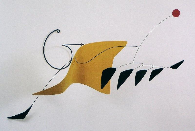 A. Calder yellow whale