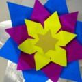 αλεξαντρινό με χρωματιστό χαρτόνι