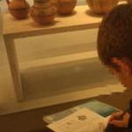 σχεδιάζοντας στο Μουσείο