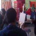 στο εργαστήριο Ζωγραφικής