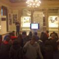 Στο κτίριο της Βουλής, παρακολουθώντας το Εκπαιδευτικό Πρόγραμμα