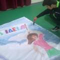 όμιλος Εικαστικών, οι μαθητές ζωγραφίζουν για τη σχολική γιορτή της 17ης Νοέμβρη