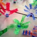 εικαστική ανακύκλωση, δημιουργίες με πλαστικά μπουκάλια