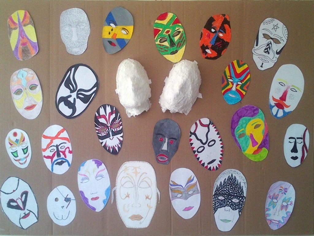 μάσκες κινέζικη όπερα