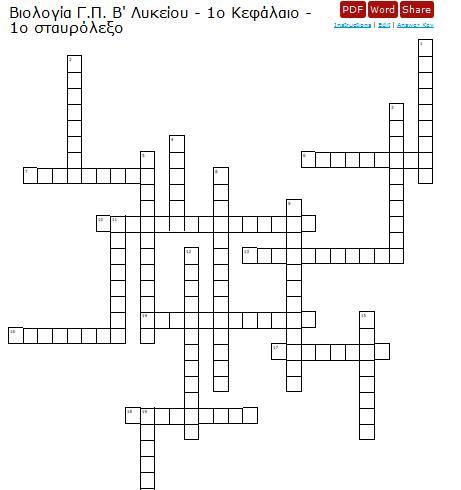 1st crossword