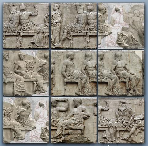 Η Ζωφόρος του Παρθενώνα – Ολύμπια αινίγματα » Δ τάξη
