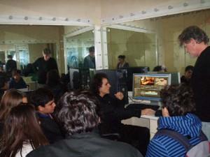 Εργαστήριο μοντάζ στο φεστιβάλ Ολυμπίας