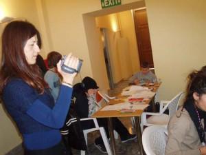 Εργαστήριο animation στο φεστιβάλ Ολυμπίας