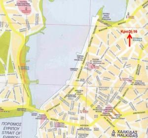Δείτε στο χάρτη της περιοχής που βρισκόμαστε