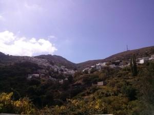 Η όψη του χωριού από το εκκλησάκι του Αγίου Ιωάννη