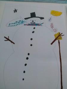Ο μουσικός χιονάνθρωπος