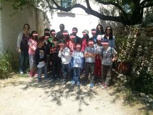 Αναμνηστική φωτογραφία όλοι μαζί στην Τραγαία!!!