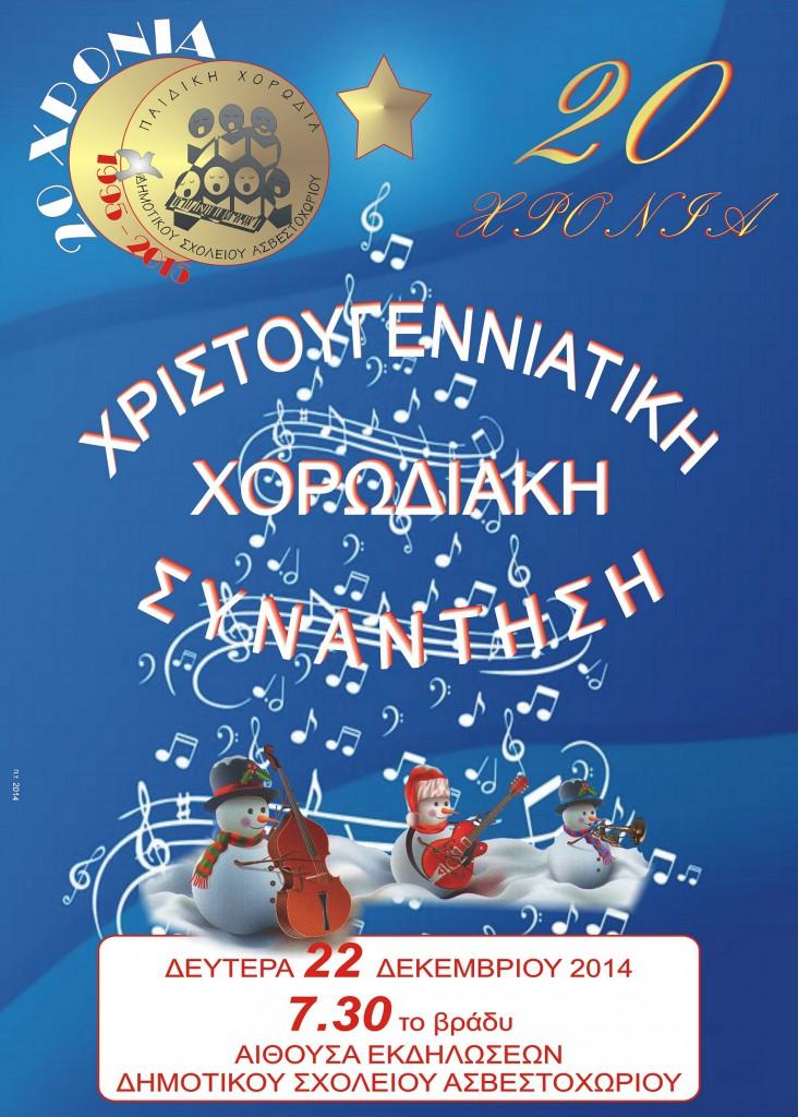 Χριστουγεννιάτικη Συναυλία 2014