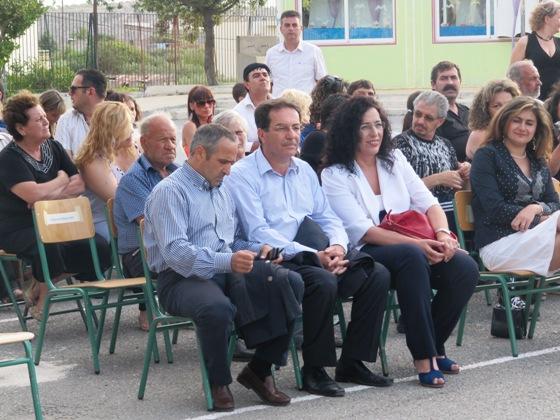 Οι κ.κ. Κλινάκης Απόστολος, Περικλειδάκης Γεώργιος και Καδιανάκη Μαρία