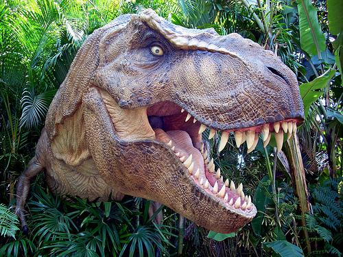 Ο Τυρρανόσαυρος REX