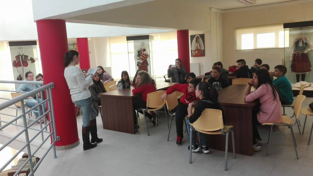 ΣΤ΄ τάξη Βιβλιοθήκη Αμυνταίου