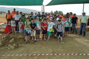 Εικόνες από την εμπειρία μας/ Photos from the excavation (Πηγή: Αρχείο του σχολείου μας)