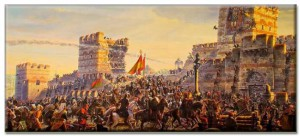 Άλωση της Πόλης/Fall of Konstantinople (Πηγή εικόνας: http://www.iefimerida.gr/news, Πηγή video: http://www.dailymotion.com))