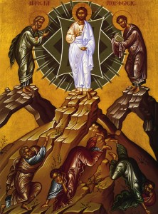 Η μεταμόρφωση του Σωτήρα / The transfiguration of Christ (Πηγή: http://www.saint.gr)