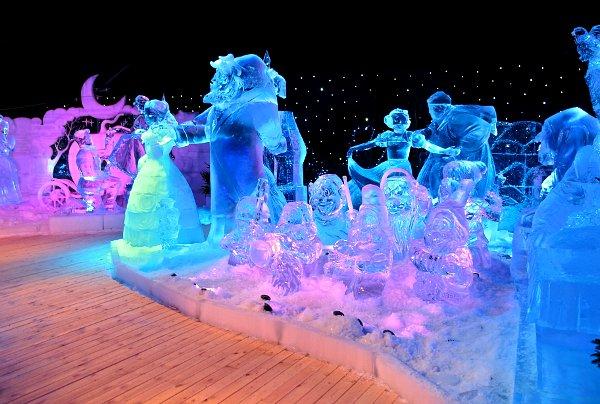 γλυπτά από πάγο